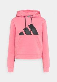 adidas Performance - HOODIE - Huppari - light pink - 0