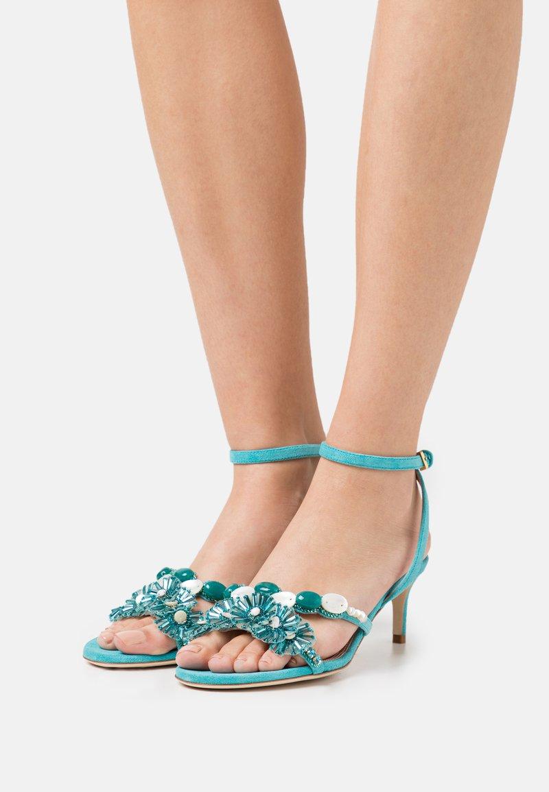 Alberta Ferretti - Sandals - light blue