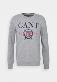 GANT - Sweatshirt - grey melange - 4