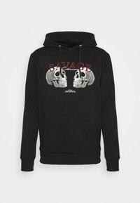 CLOSURE London - SAVAGE DEATH HOODY - Sweatshirt - black - 4