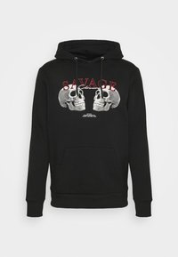 SAVAGE DEATH HOODY - Sweatshirt - black