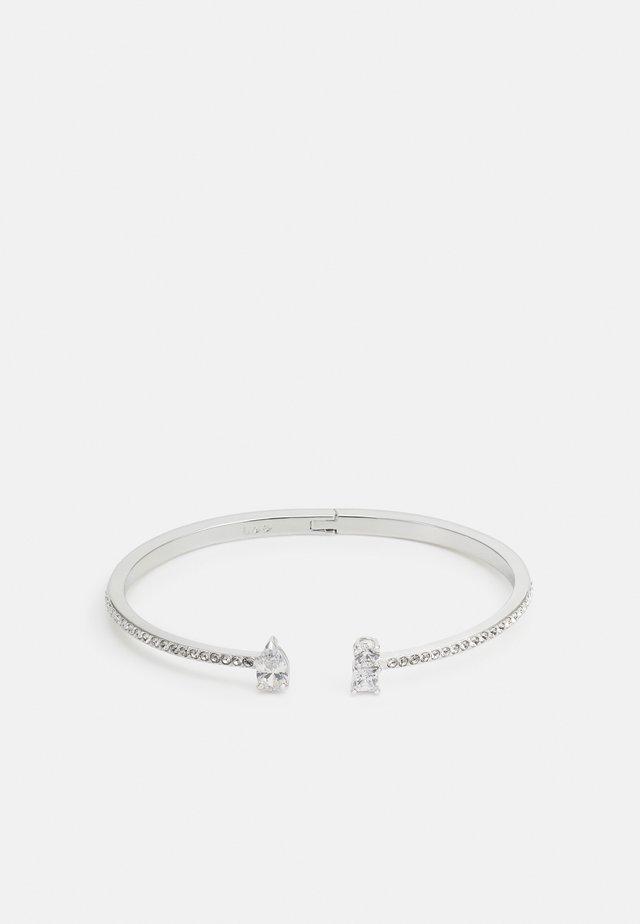 Armband - silver-coloured/white