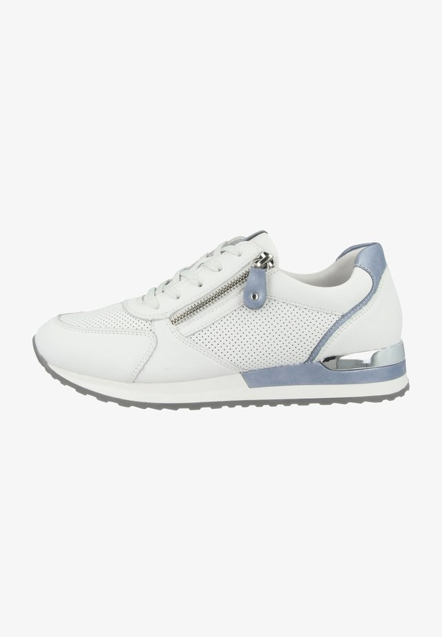 Sneakers laag - white-blue
