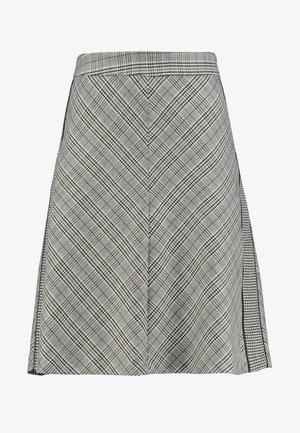 SKIRT SHORT - A-line skirt - emerald green multi