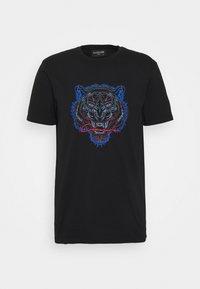 CLOSURE London - TONAL FURY TEE - Print T-shirt - black - 0
