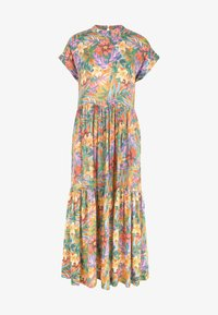O'Neill - Maxi dress - yellow with red - 5