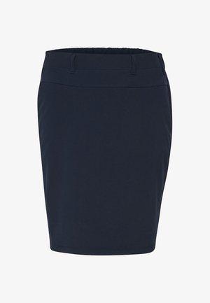 JILLIAN SARA  - A-line skirt - midnight marine