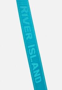 River Island - SET - Across body bag - blue - 4