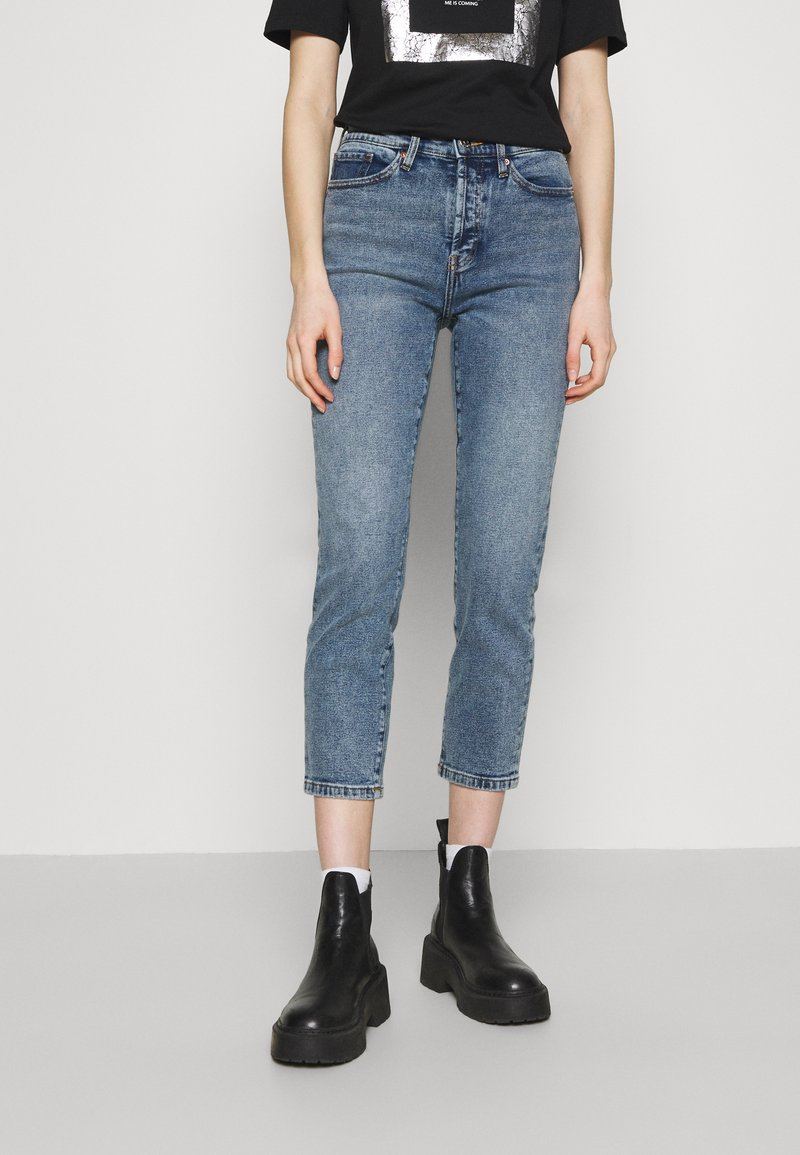 ONLY - ONLJOSIE LIFE RISE SLIM  - Slim fit jeans - medium blue