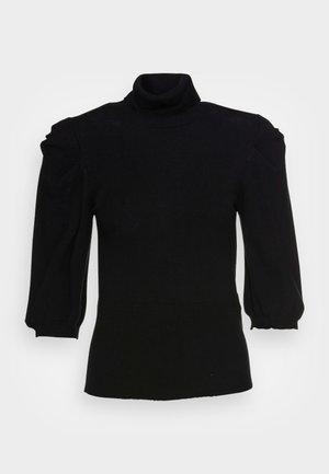 MAGLIA CHIUSA - Pullover - nero