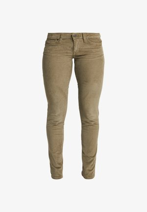 FITTED PANTS - Stoffhose - sage khaki