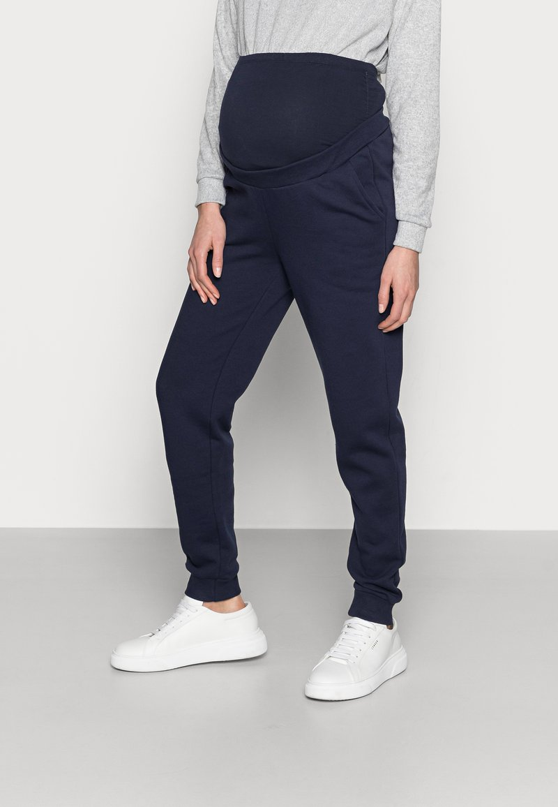Anna Field MAMA - Tracksuit bottoms - dark blue