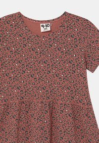 Cotton On - FREYA SHORT SLEEVE  - Robe en jersey - chutney/gold - 2