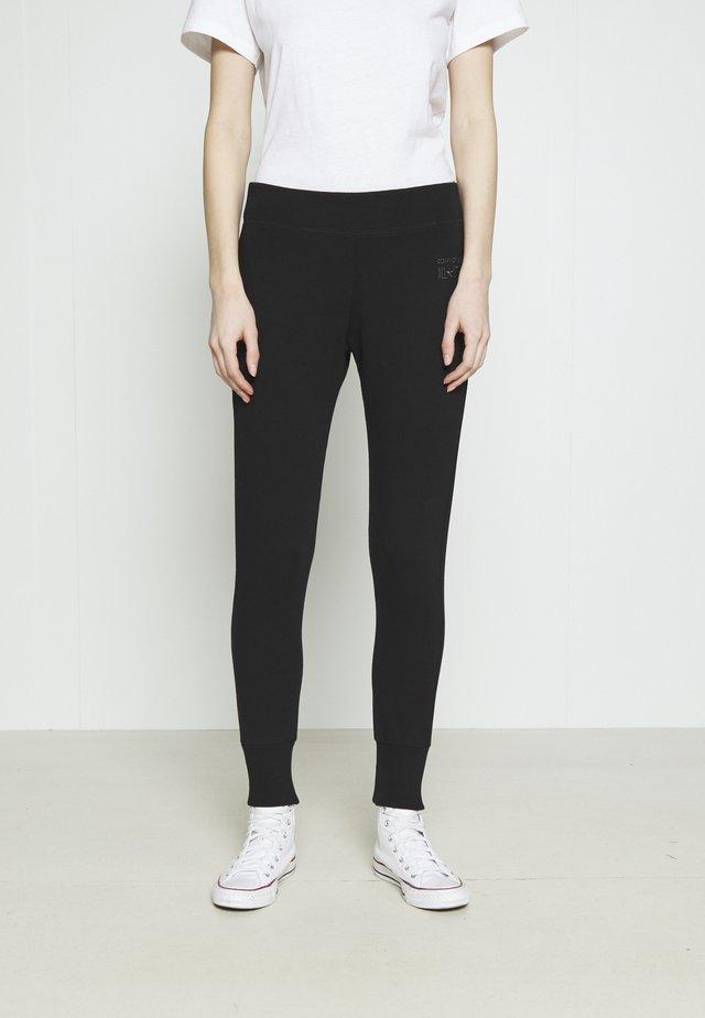 PANT CLASSIC HIGH - Teplákové kalhoty - black