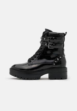 FLORICE - Cowboy/biker ankle boot - black