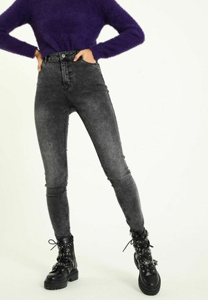 Jeans Skinny Fit - anthrazitgrau