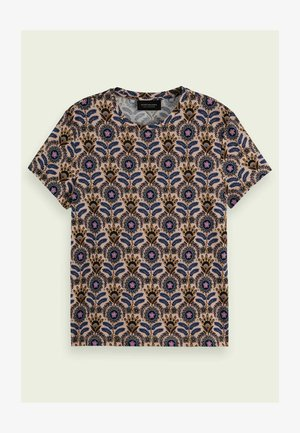 PRINTED - Print T-shirt - pink blue