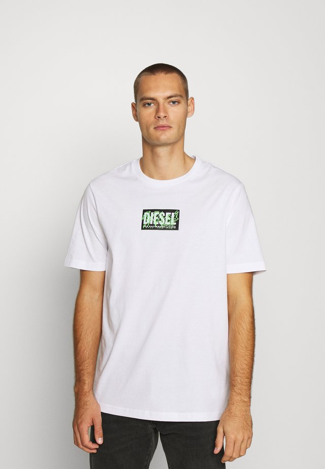 T-JUST-X62 T-SHIRT UNISEX - T-shirt con stampa - white