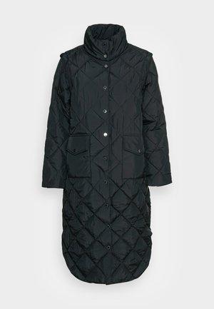 OLGA - Classic coat - black