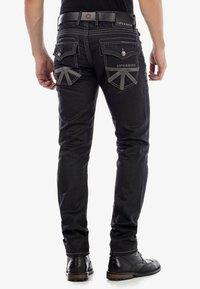 Cipo & Baxx - Straight leg jeans - black - 2