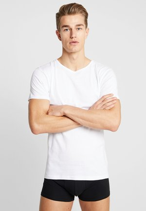 SEAMLESS TEE 3 PACK - Undershirt - white
