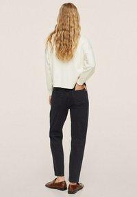 Mango - Jeans Tapered Fit - black denim - 2