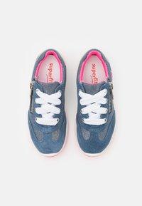 Superfit - MERIDA - Sneakers basse - blau/rosa - 3