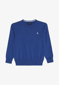 Polo Ralph Lauren - Stickad tröja - mottled dark blue - 2