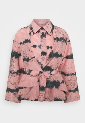 MELTING - Summer jacket - rosa