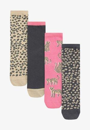 4 PACK - Socks - pink