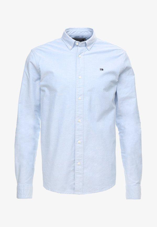 Scotch & Soda REGULAR FIT OXFORD SHIRT WITH STRETCH - Koszula - blue/niebieski Odzież Męska ECNG