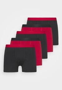 5 PACK - Panty - black/red