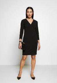 DKNY - EMPIRE WAIST SHEATH - Shift dress - black - 1