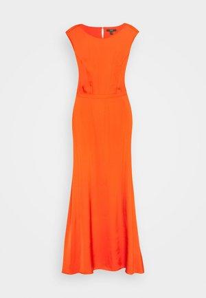 DRAPE - Maxi dress - red/orange