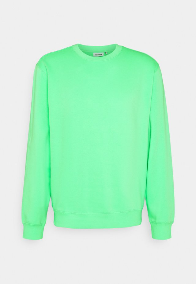 STANDARD - Sudadera - bright green