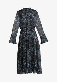Hope & Ivy Tall - HANKEY HEM DRESS WITH FLUTED SLEEVE - Juhlamekko - blue - 6