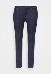 VMMANYA - Slim fit jeans - dark blue denim rinse
