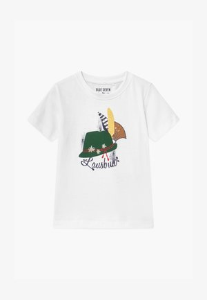 SMALL BOYS - Print T-shirt - white