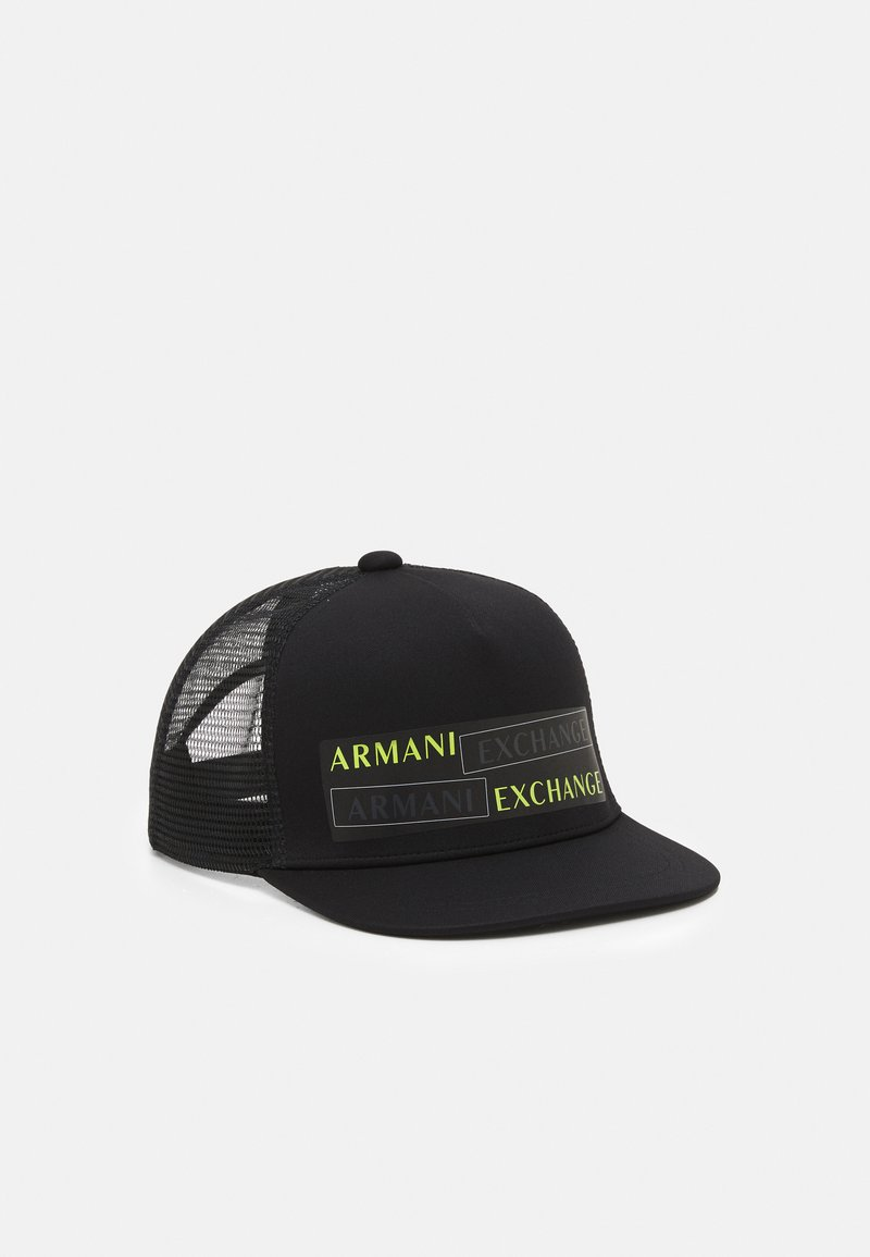 Armani Exchange - RAPPER GLOW IN THE DARK - Cap - nero