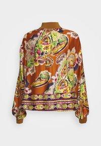 Emily van den Bergh - Blouse - camel/multicolour - 0