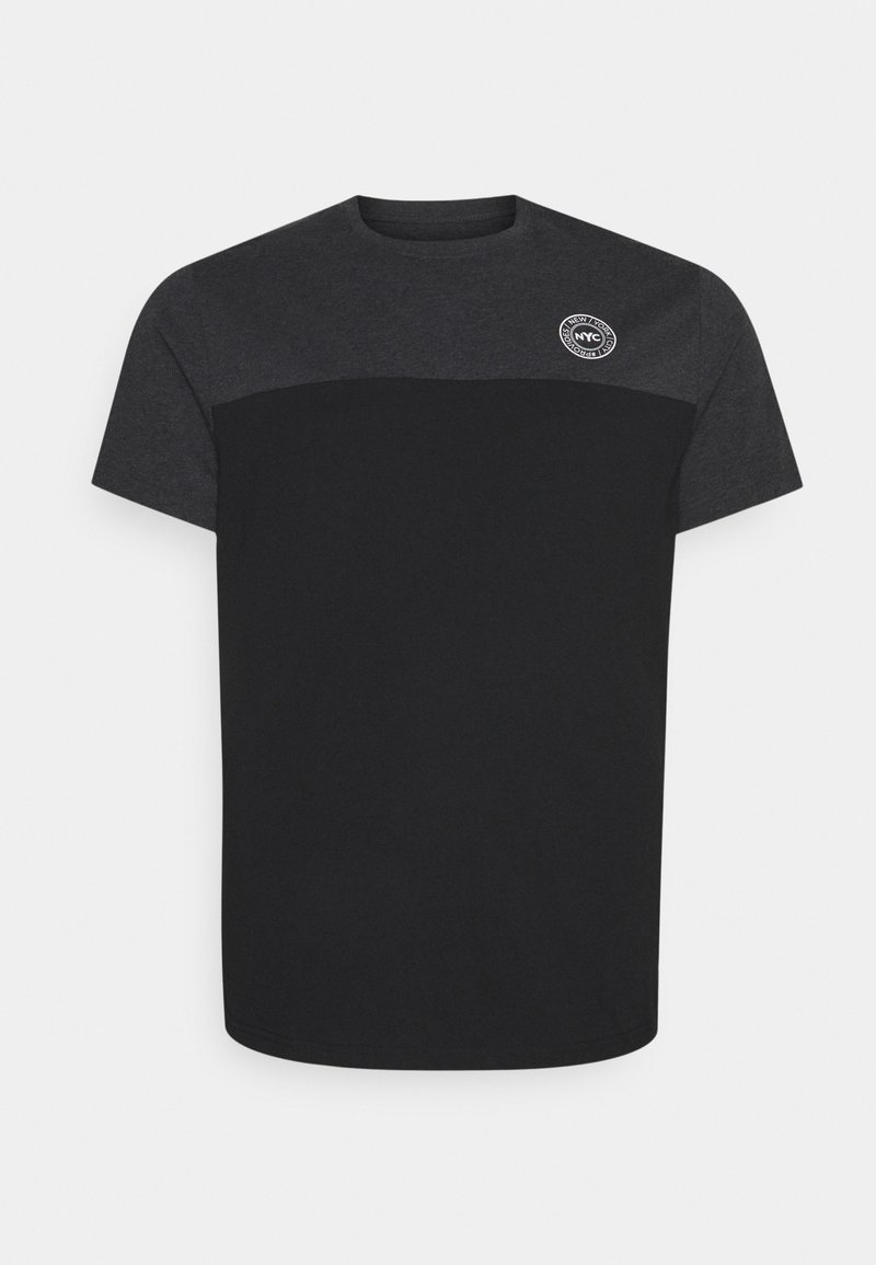 Johnny Bigg - SPLICE LONGLINE SCOOP TEE - Print T-shirt - charcoal