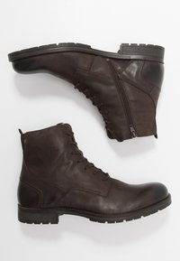 Jack & Jones - JFWORCA  - Lace-up ankle boots - brown stone - 1