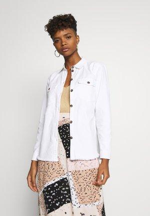 JDYRUNE - Button-down blouse - white