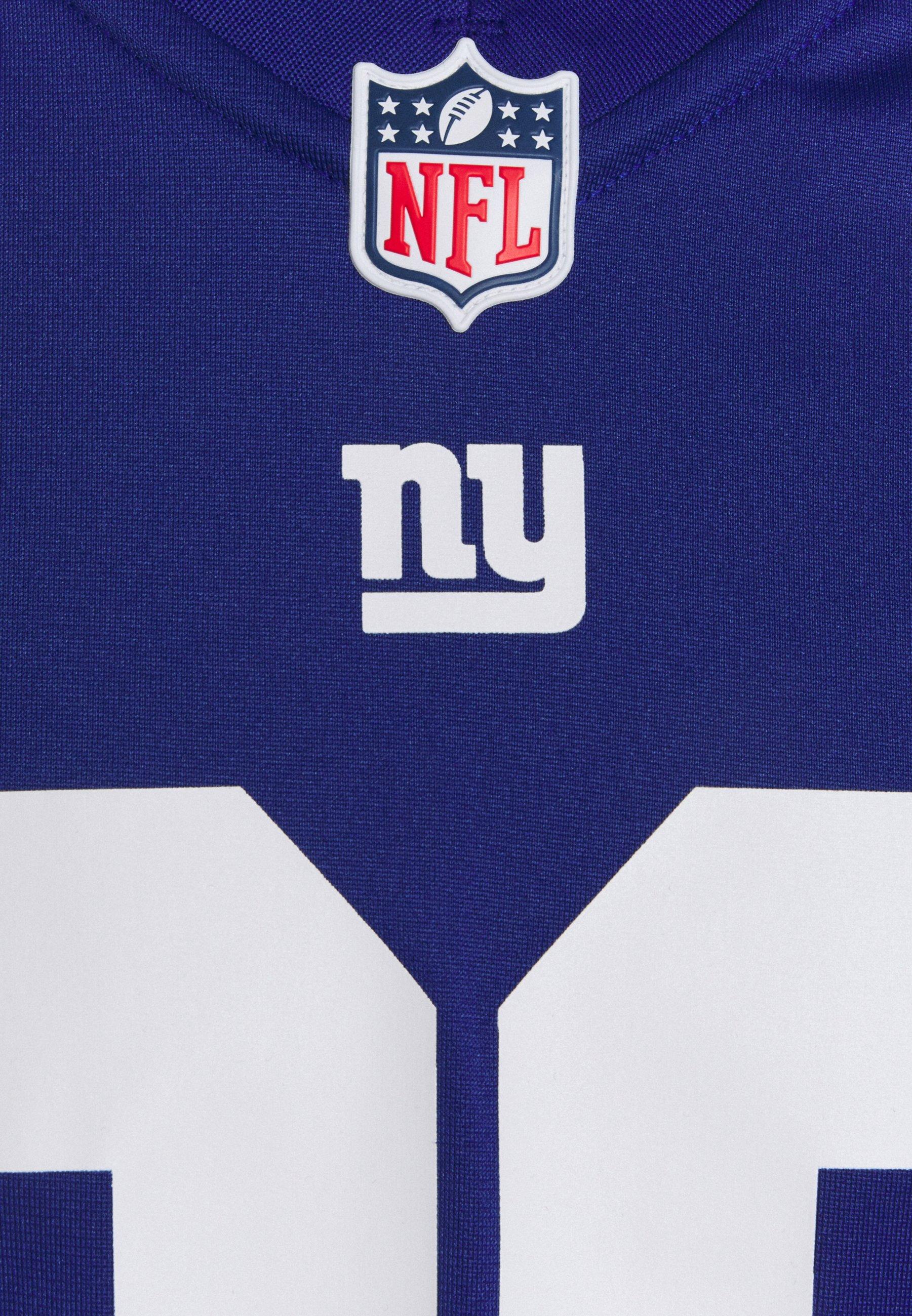 NFL NEW YORK GIANTS SAQUON BARKLEY GAME TEAM Vereinsmannschaften rush blue