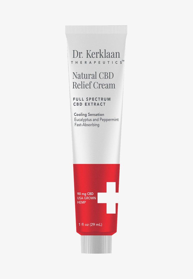 Dr. Kerklaan - NATURAL CBD RELIEF CREAM  - Hydratatie - -