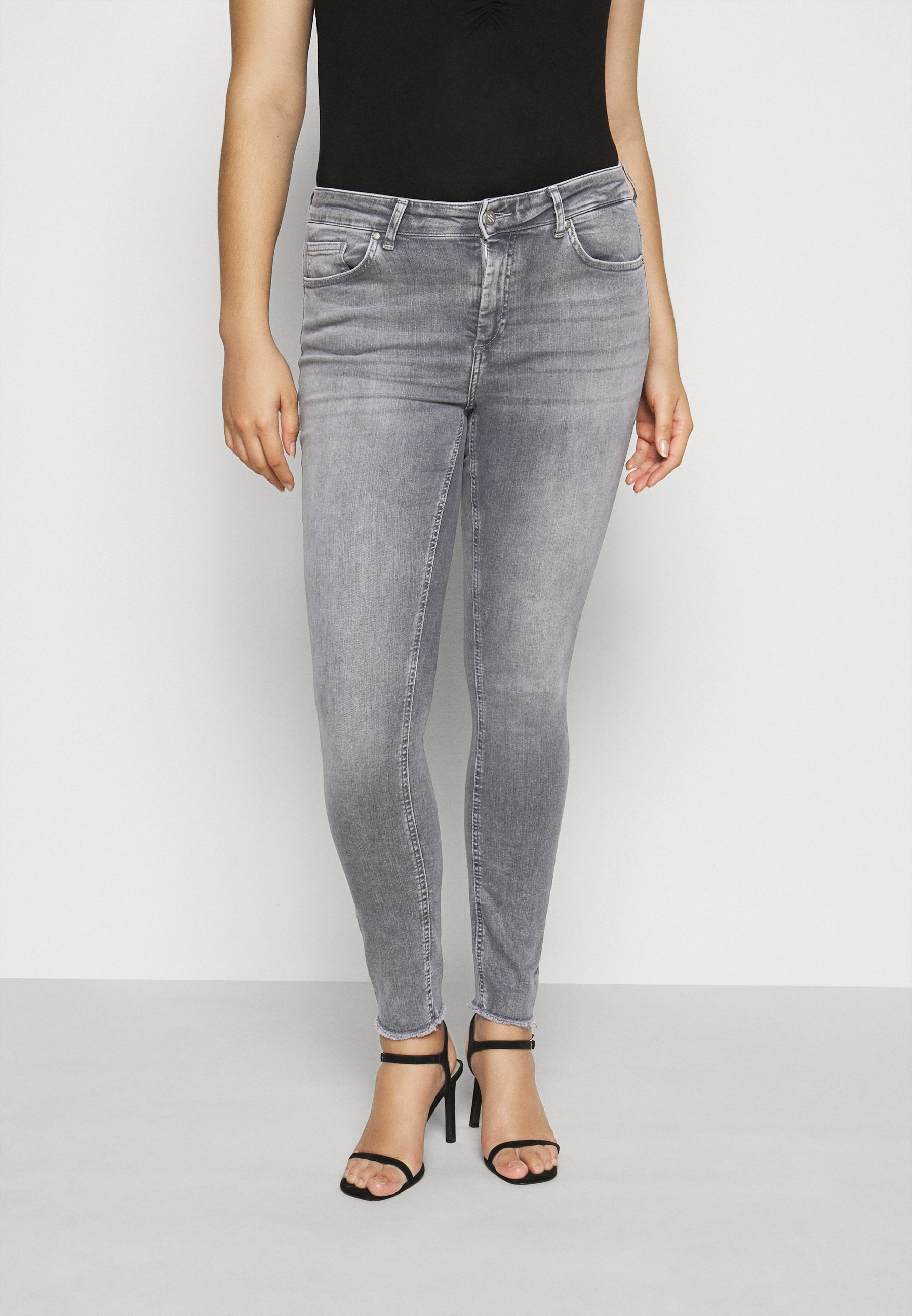 Women CARWILLY LIFE RAW - Jeans Skinny Fit