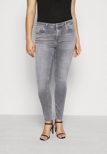 CARWILLY LIFE RAW - Jeans Skinny Fit - grey denim