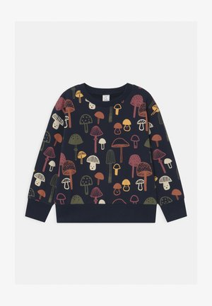 MINI PRINT MUSHROOMS - Mikina - dark navy
