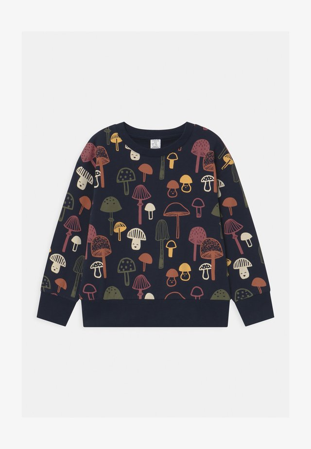 MINI PRINT MUSHROOMS - Sweater - dark navy