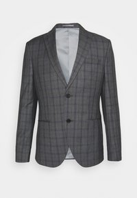 Isaac Dewhirst - CHECK SUIT - Oblek - blue - 16
